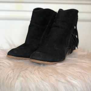Suede a.x.n.y. American exchange New York boots 7